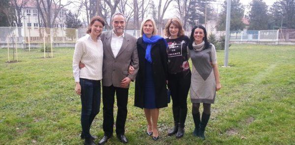 ПРВА ДАМА СРБИЈЕ У ПОСЕТИ ШКОЛИ