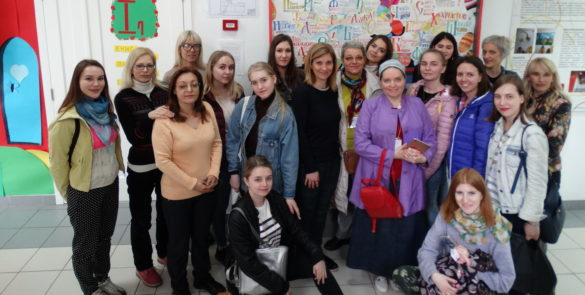 Студенти Московског универзитета у посети школи