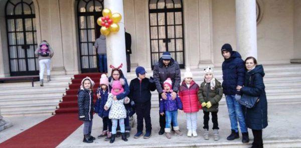 Посета Белог двора поводом новогодишњих празника